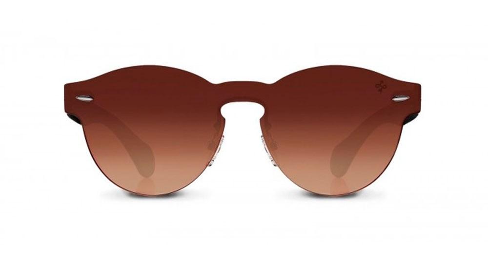 Gafas de sol modernas baratas Hokana Bawa marrón