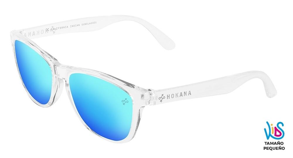 Gafas de sol baratas de calidad para niños Kids crystal lente azul